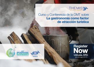 """BOURSES pour le cours et conférence  de l'OMT en Argentine sur """"La gastronomie comme facteur d'attraction touristique"""""""