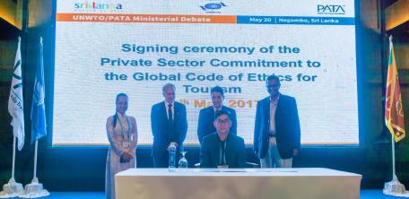 Signing ceremony: Negombo, Sri Lanka, 20 May 2017