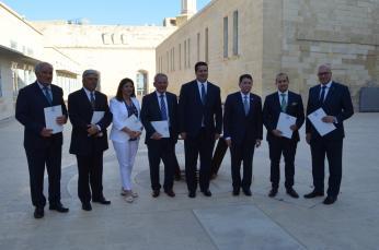 Signing ceremony: Valletta, Malta,  May 2017