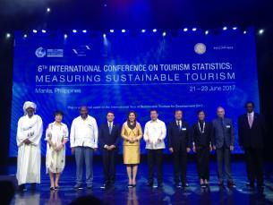 La Conférence de l'OMT à Manille dresse une feuille de route pour la mesure du tourisme durable