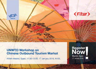UNWTO Workshop on Chinese Outbound Tourism Market