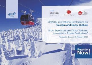 Conferencia Internacional de la OMT sobre el Turismo y la Cultura de la Nieve: «Las experiencias de nieve y las tradiciones de invierno como activos para los destinos turísticos»