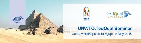 UNWTO.TedQual Seminar in Cairo, Egypt