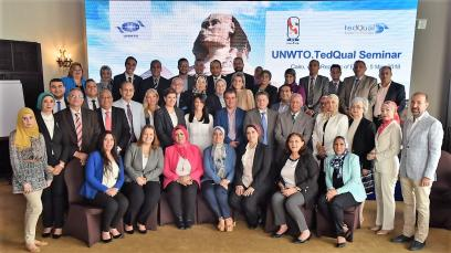 Inaugurated the UNWTO.TedQual Seminar in Egypt