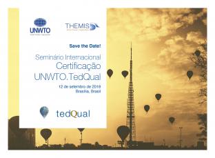 Seminário UNWTO.TedQual Brasília 2018