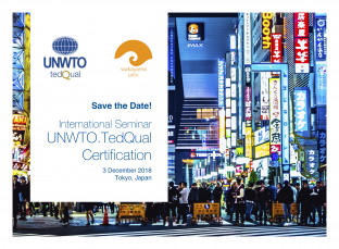 UNWTO.TedQual Seminar in Tokyo, Japan