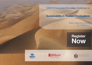 SAVE THE DATE! MODUL University Dubai is to host the UNWTO Workshop in April 2019