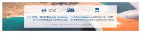 Les ministres africains du tourisme, des transports et de l'aviation adoptent la Déclaration ministérielle de Santa Maria, île de Sal sur le développement du transport aérien et du tourisme en Afrique