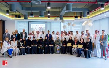 "The UNWTO Executive Education Workshop in United Arab Emirates on ""Sustainability in Tourism Destinations""  finished on 11th April"