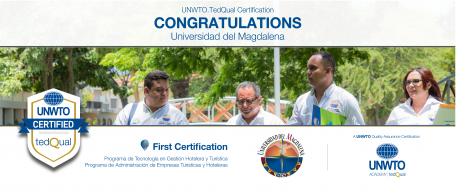 UNWTO.TedQual Certification - Universidad del Magdalena