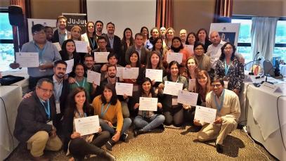 """Finaliza el Curso Internacional de la OMT en Argentina sobre """"Turismo Rural Comunitario como modelo de desarrollo endógeno""""."""