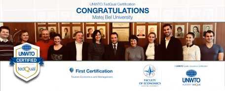 UNWTO.TedQual Certification - Matej Bel University