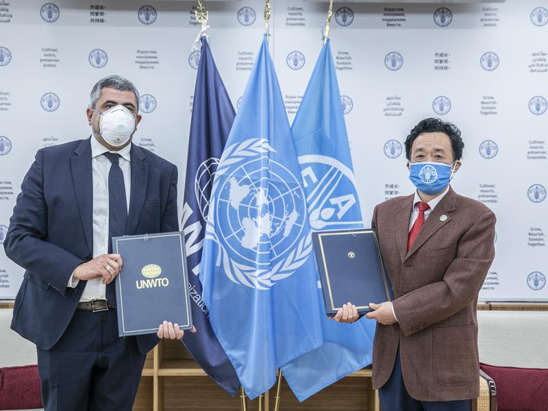 UNWTO and FAO