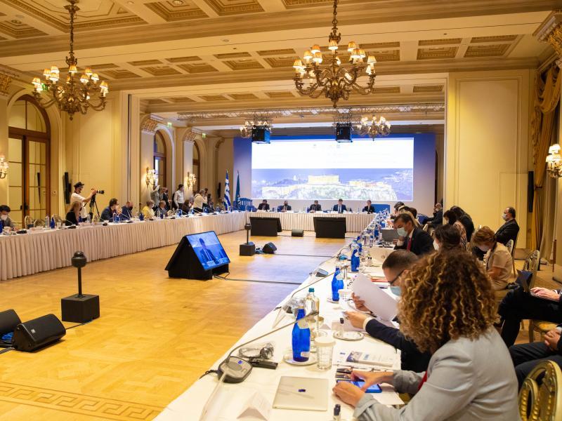 Η Ευρωπαϊκή Ένωση ως ηγέτες του τουρισμού συναντιούνται στην Αθήνα