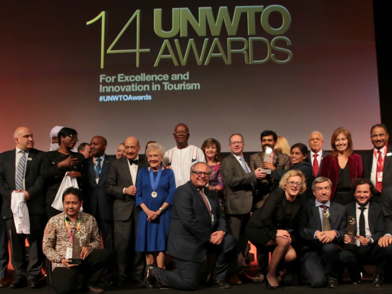 Initiatives from Portugal, Spain, India and Indonesia winners of UNWTO Awards for Innovation in Tourism