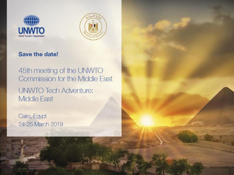 45th Meeting of the UNWTO Commission for the Middle East