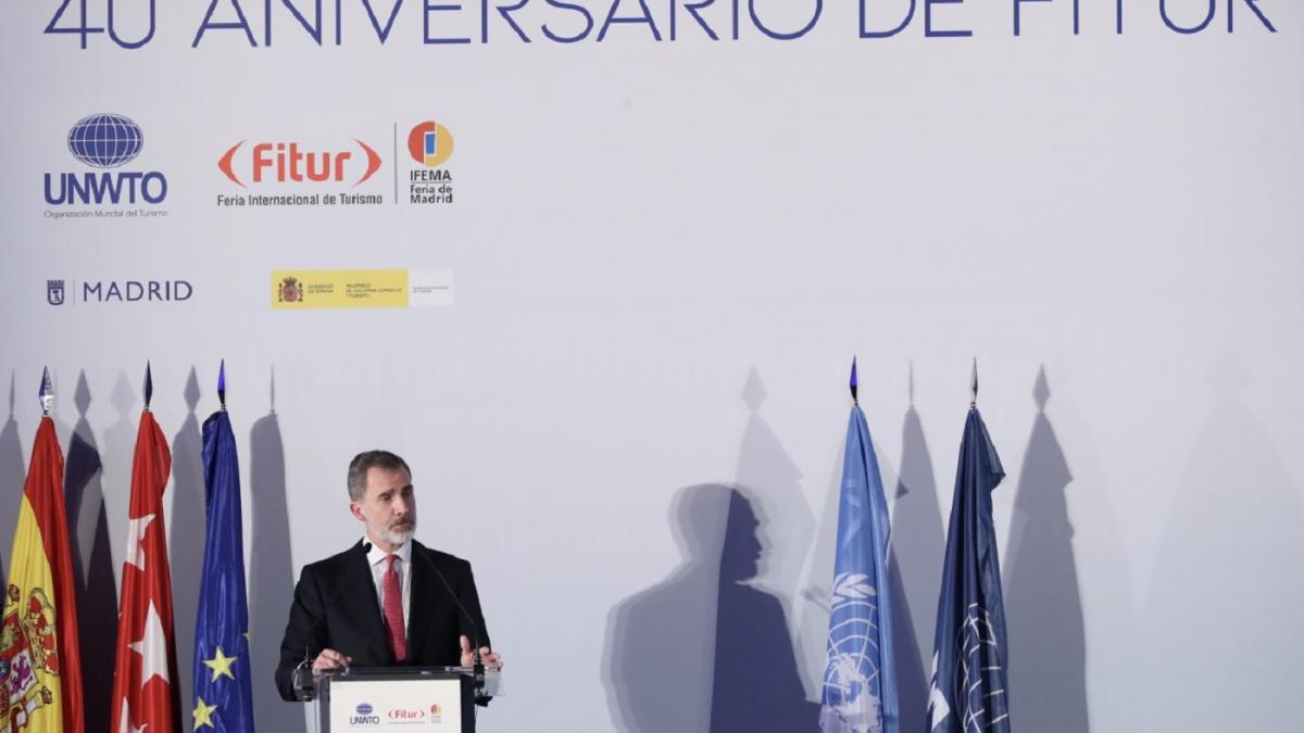 Cena conmemorativa del 40º aniversario de la feria internacional de turismo - FITUR