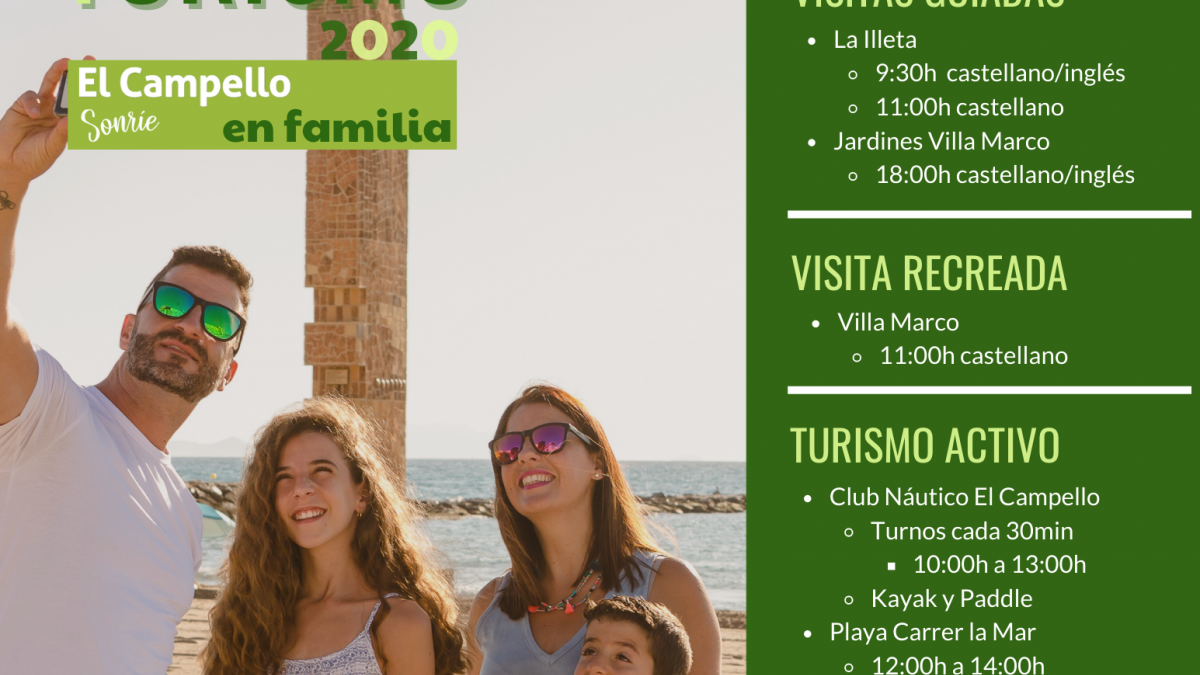 Día Mundial del Turismo en El Campello - 2020