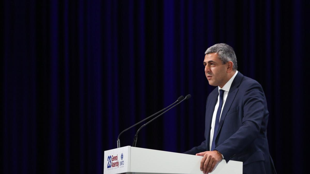 Zurab Pololikashvili es Secretario General de la Organización Mundial del Turismo (OMT)