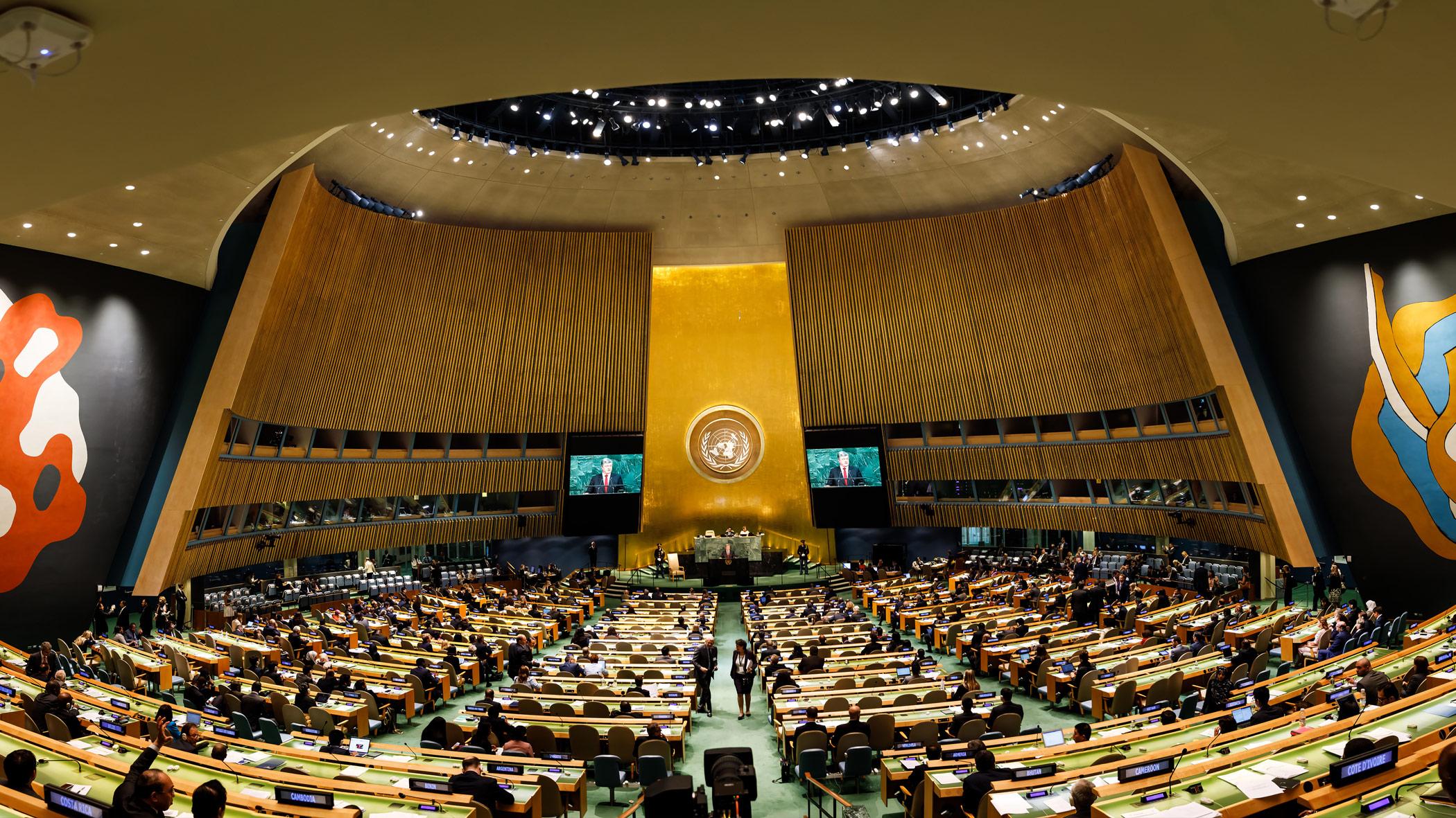 Resoluciones de la ONU sobre el turismo sostenible
