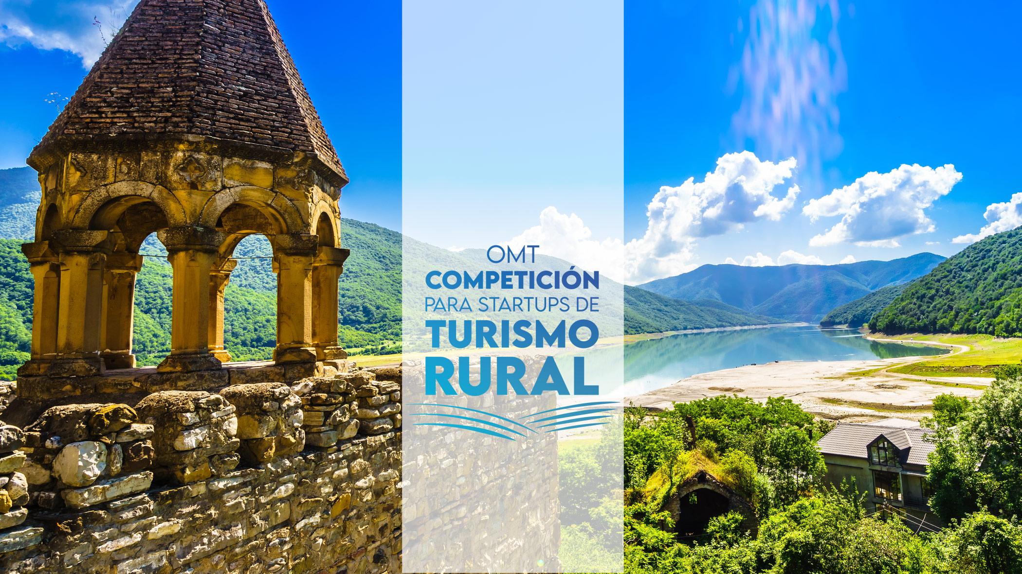 Competición mundial de la OMT para startups de turismo rural