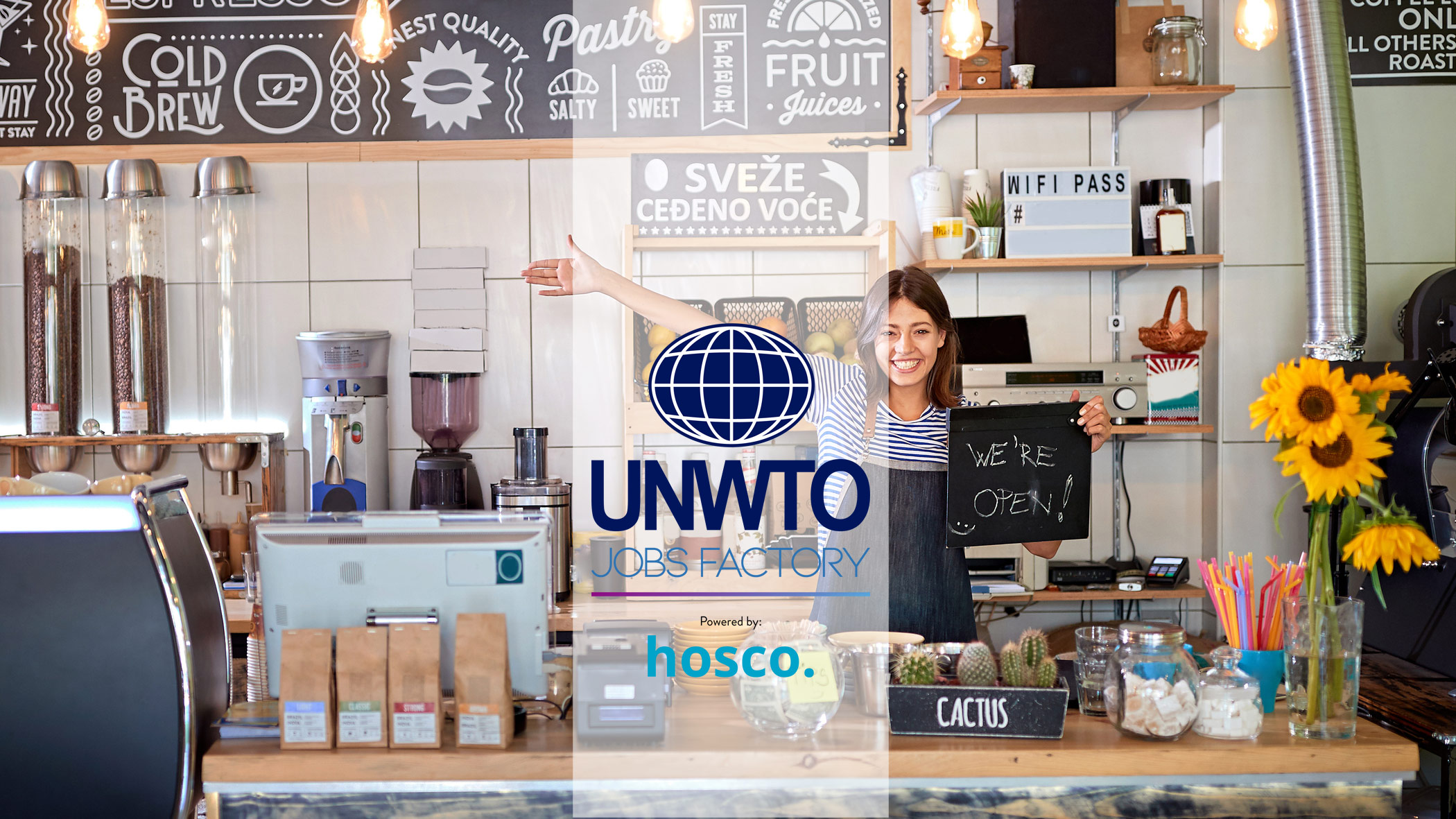 UNWTO Jobs Factory Powered by Hosco