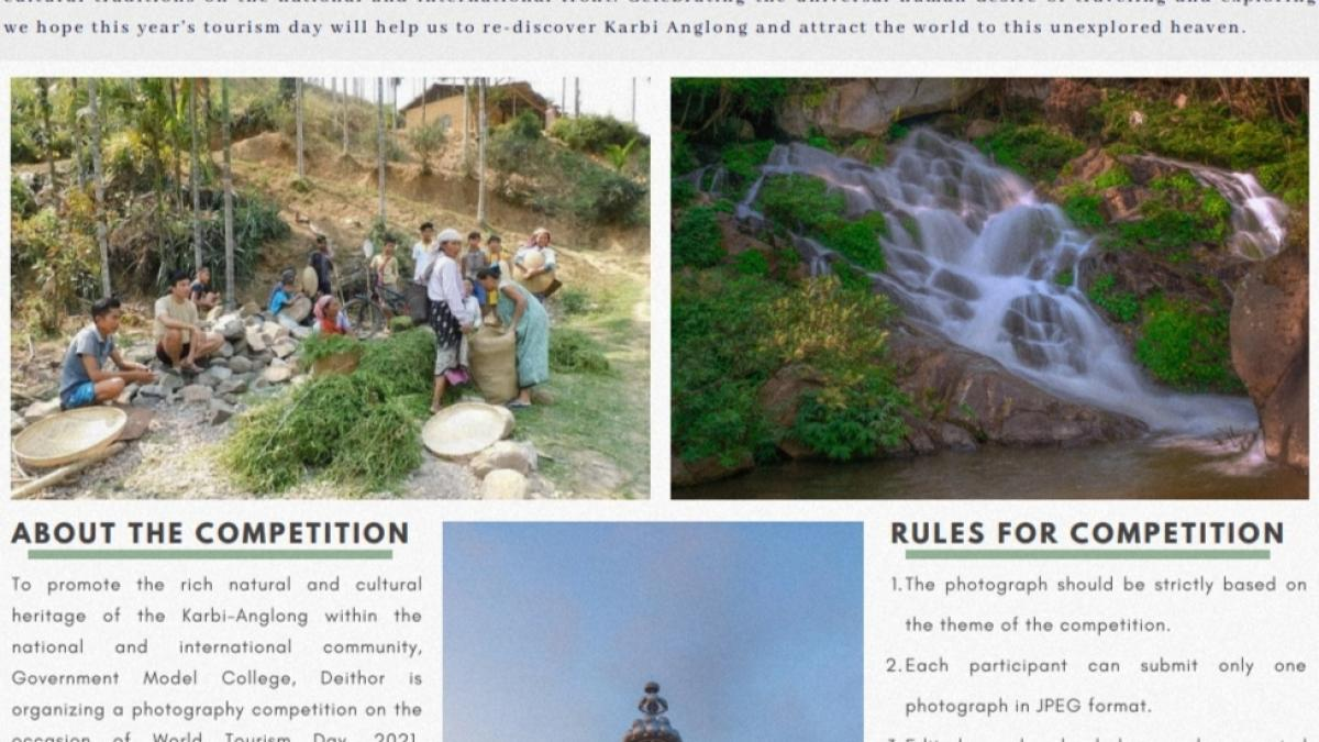 Photography Competition. Theme- Natural and Cultural Heritage of the Karbi-Anglong