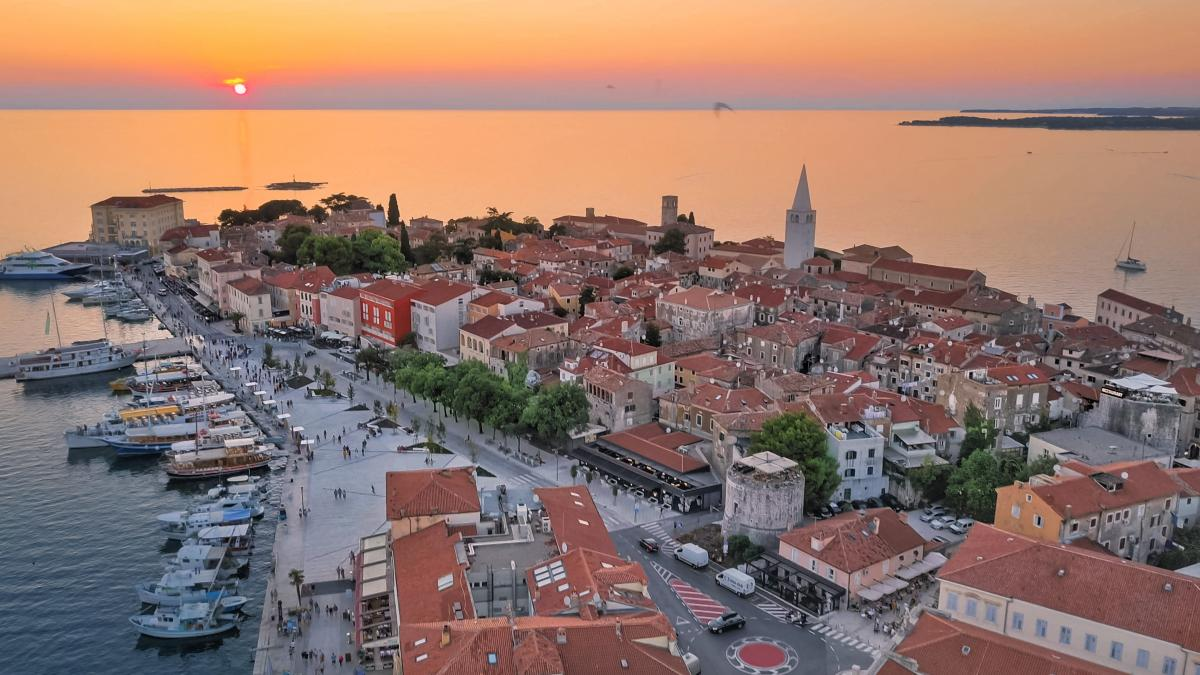 Tourism in Poreč - a selection of documentary records