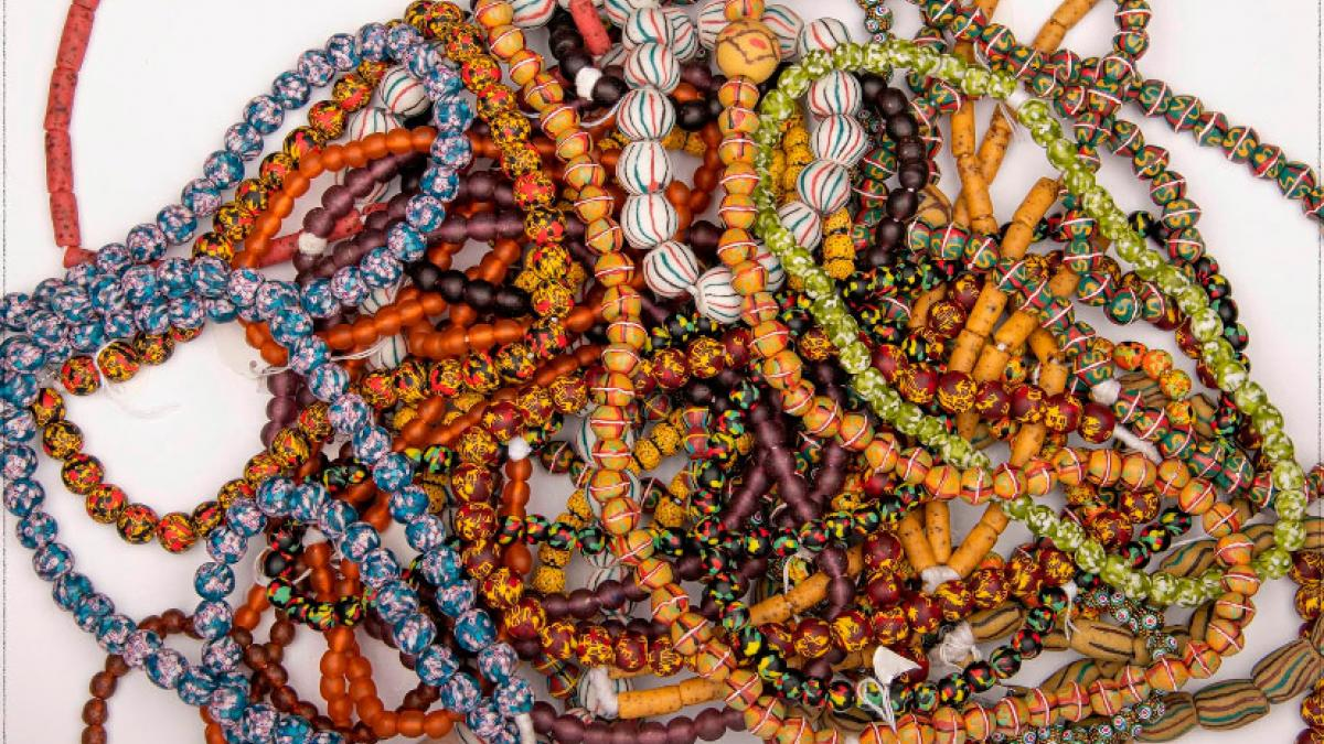 YENKO ODUMASE- A VISIT TO THE BEAD MAKING INDUSTRY