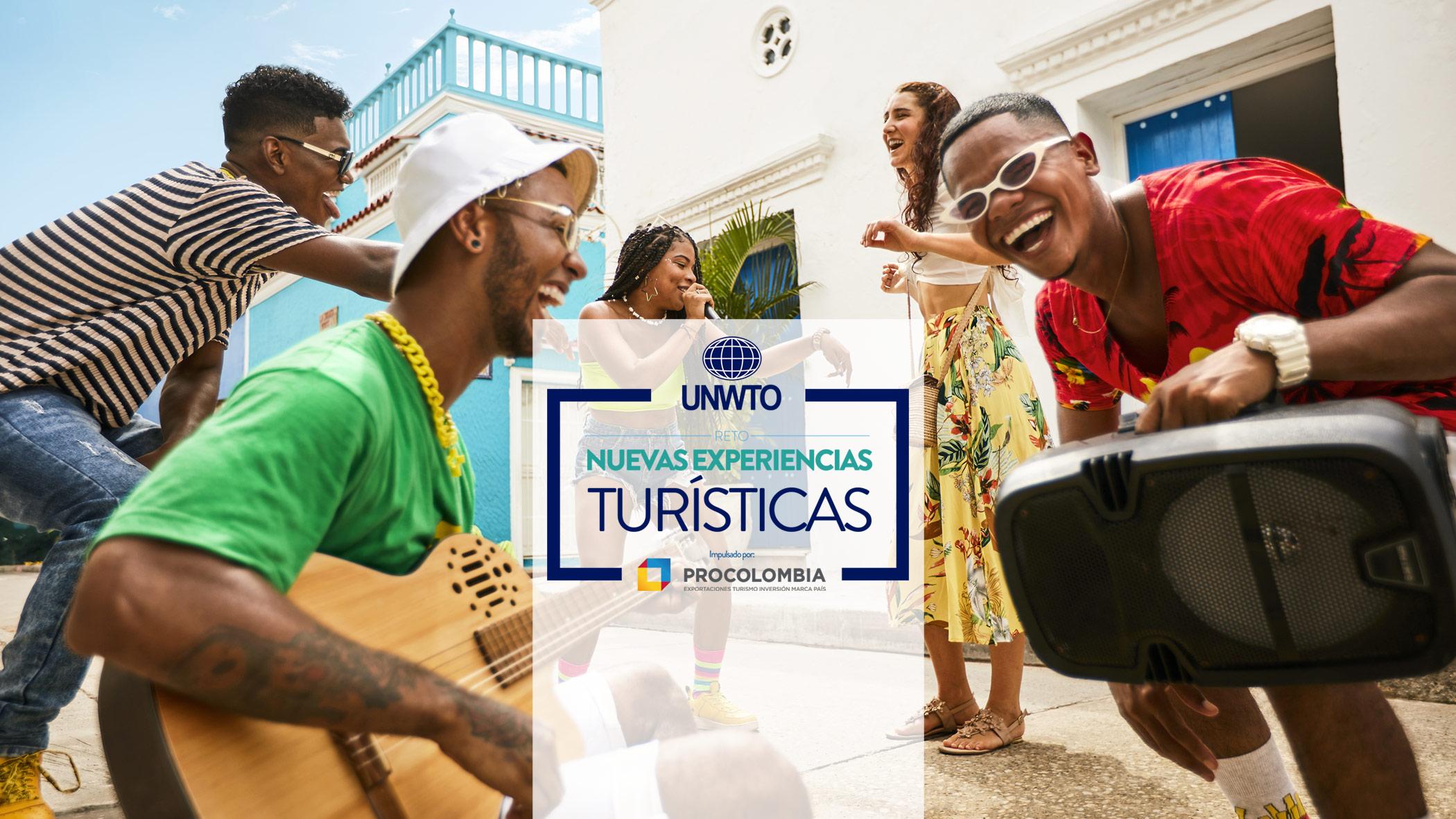 Reto OMT de Innovación: Nuevas experiencias turísticas impulsado por Procolombia