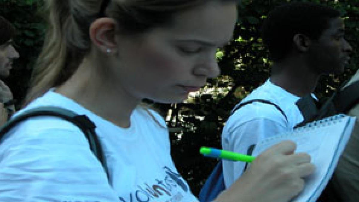 Volunteers at Andorra's service