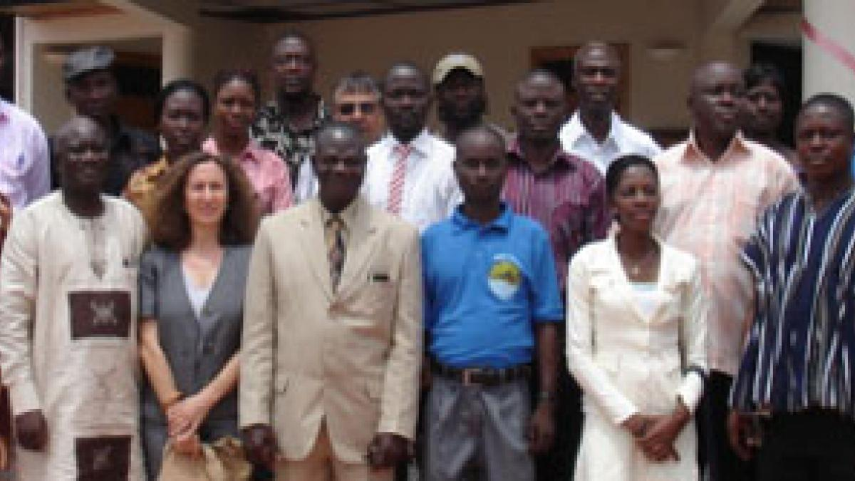 UNWTO Training Course on Sustainable Tourism in Ghana
