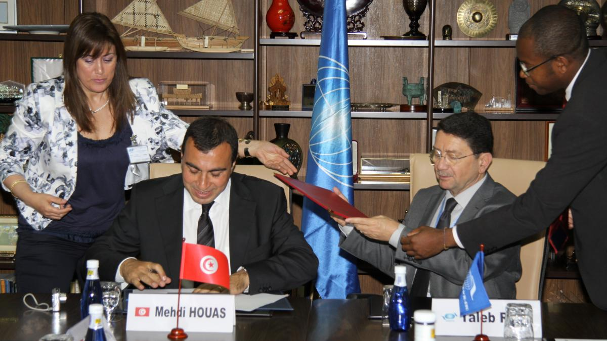 UNWTO supporting tourism in Tunisia