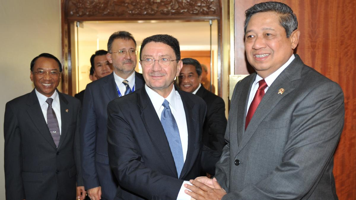 President Yudhoyono of Indonesia: first Asian head of state to join UNWTO/WTTC global campaign