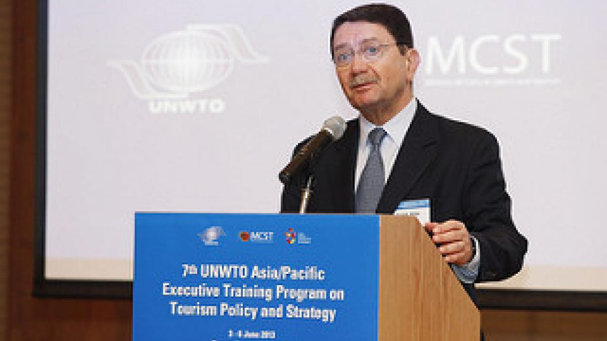 UNWTO Asia/Pacific Executive Training Program on Tourism Policy and Strategy