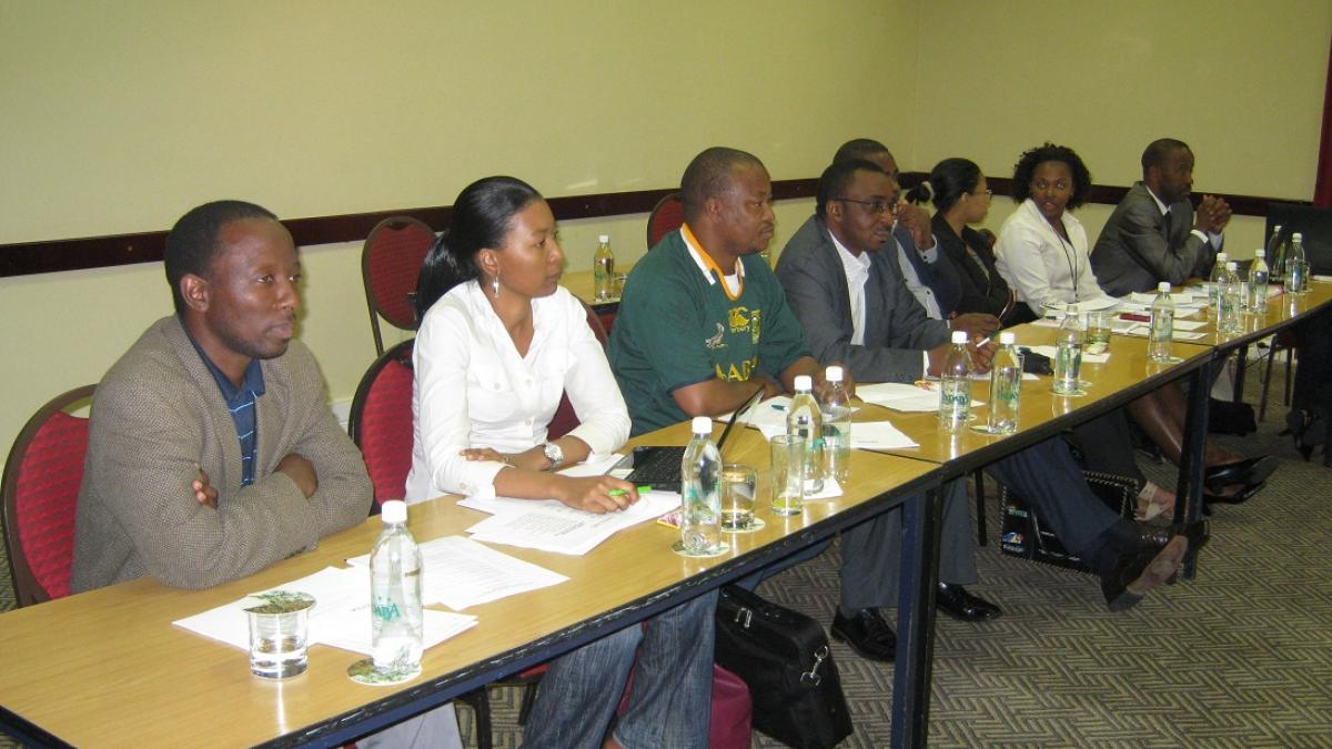 UNWTO and RETOSA jointly hosted a Statistics Training Workshop on 8-9 September 2011