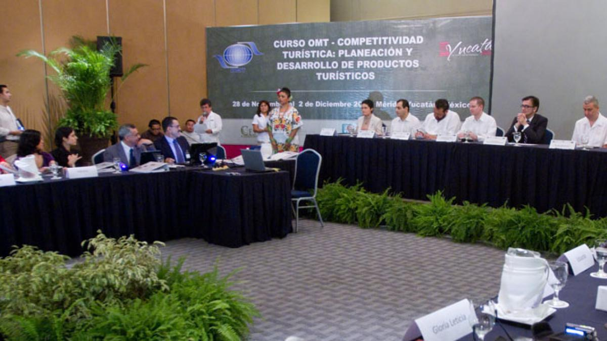 The UNWTO Course Tourism Competitiveness: Tourism planning and product development has finalized