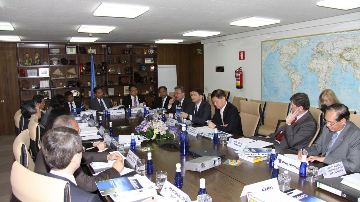 UNWTO and Asia Pacific Ambassadors Discuss Global Tourism Issues