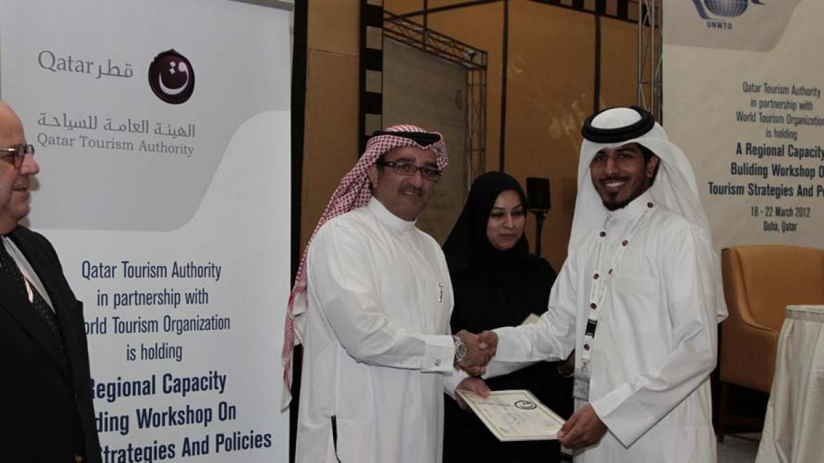 UNWTO Regional capacity building workshop on Tourism Policy and Strategy in Qatar