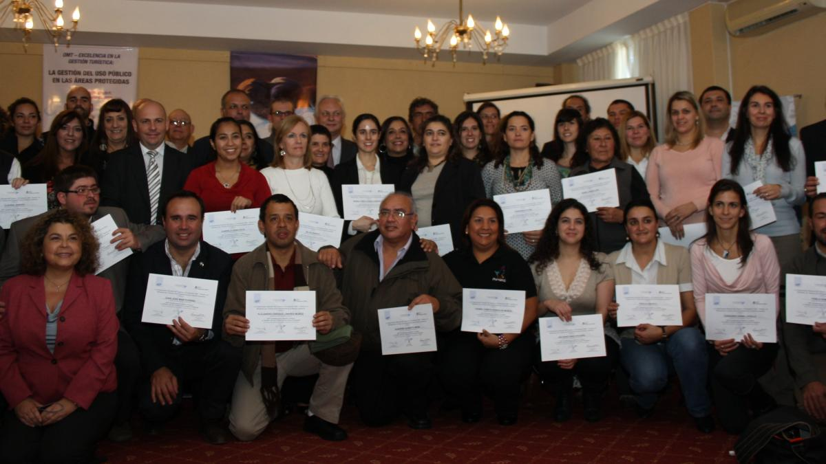The UNWTO Capacity Building Course in Argentina has finalized