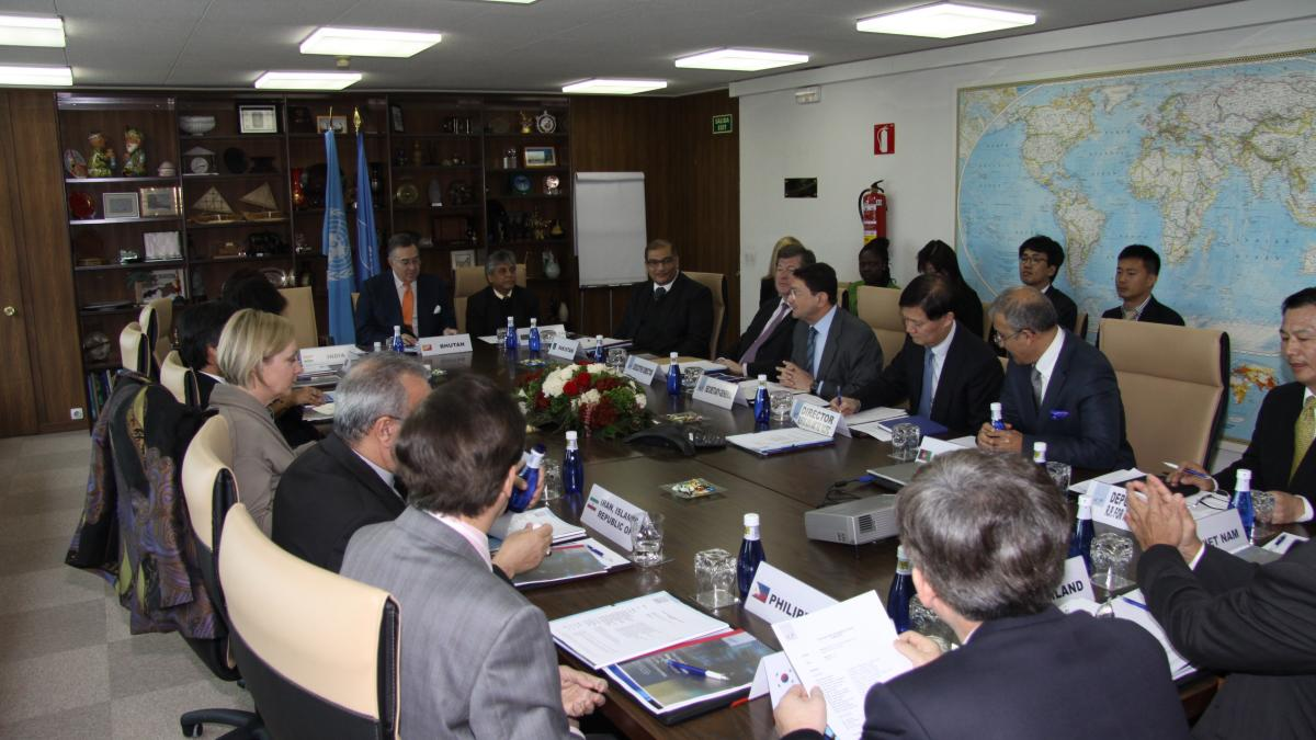 Asia Pacific Ambassadors Reunite at UNWTO Headquarters for Annual Briefing