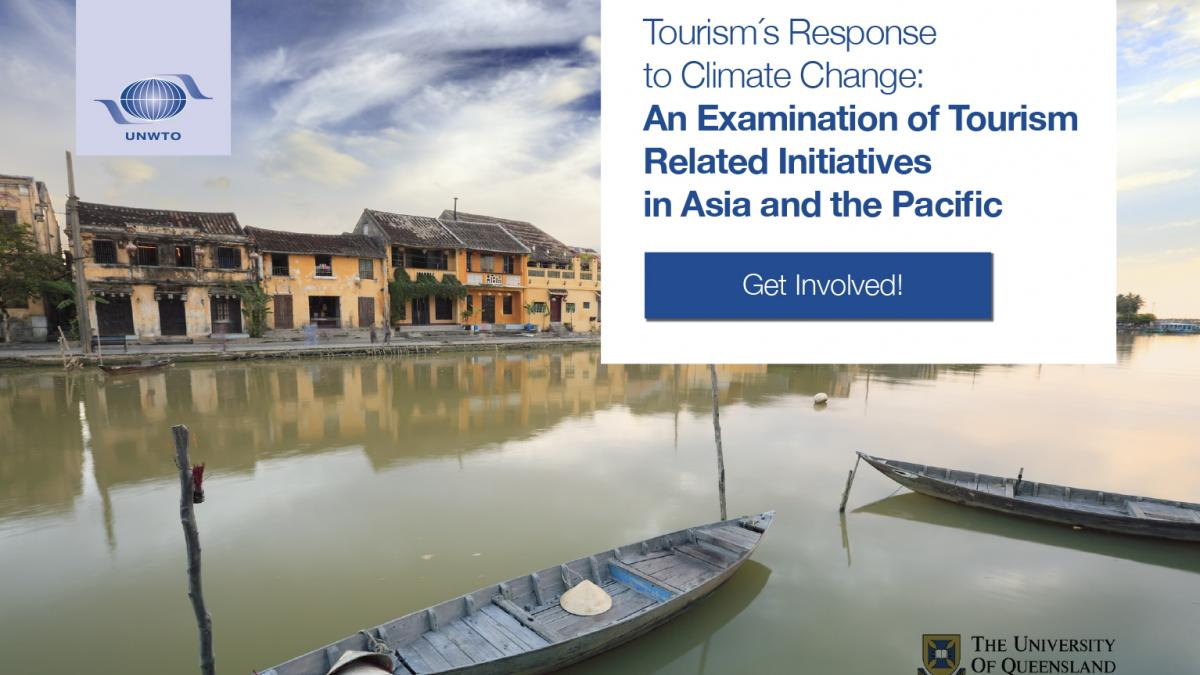 UNWTO Seeks Input into New Study on Climate Change and Tourism in Asia and the Pacific