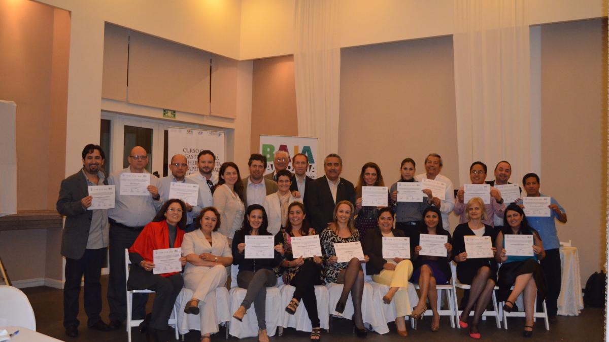 The UNWTO International Capacity Building Course in Mexico has finalized