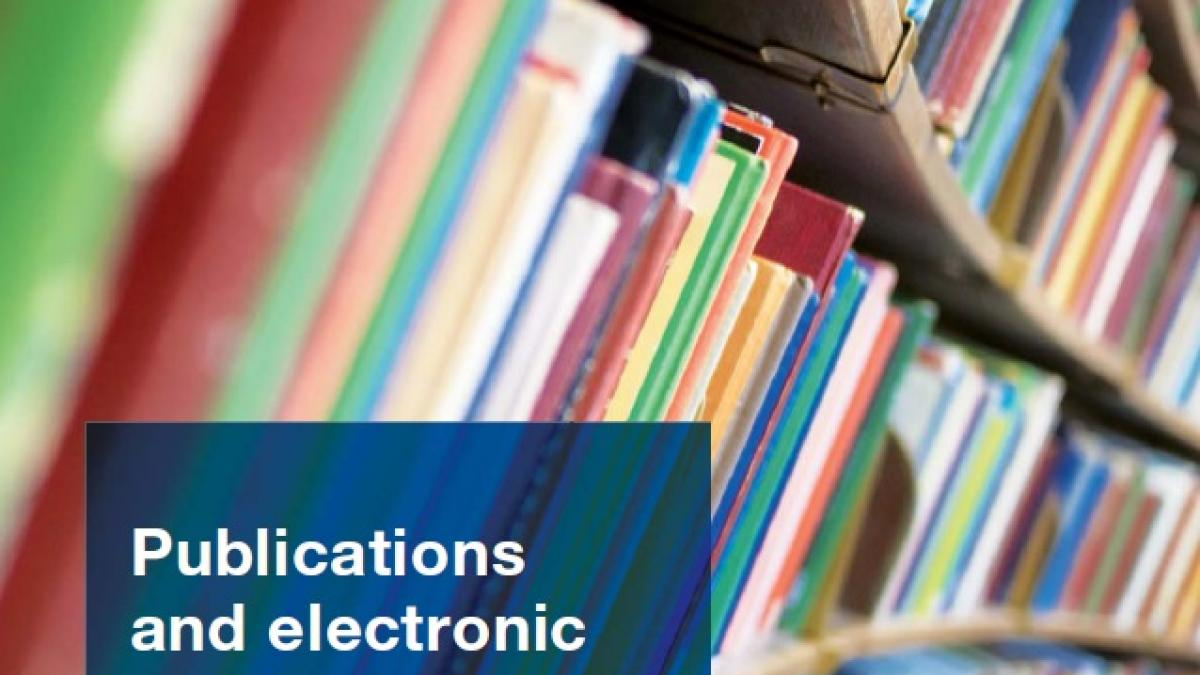 Catalogue of Publications and Electronic Products, Edition 2013-2014