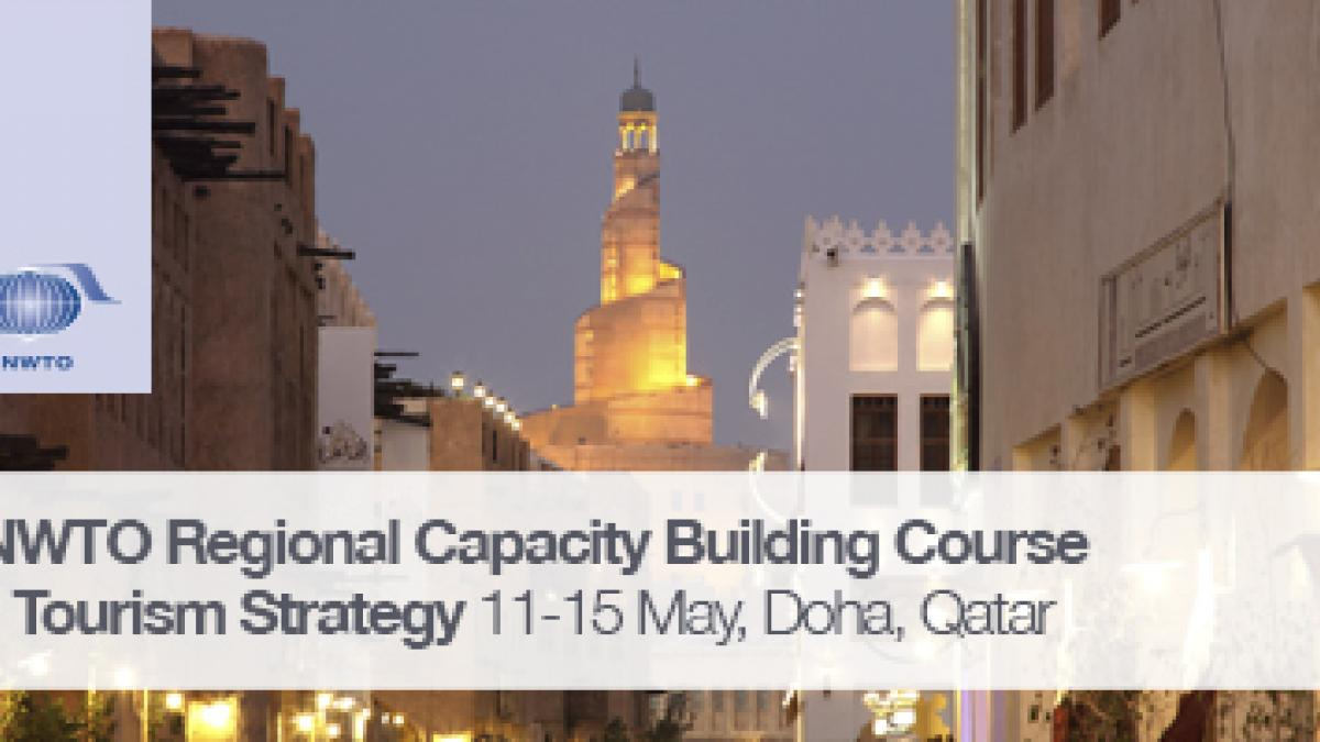 UNWTO Regional Capacity Building Course on Tourism Strategy