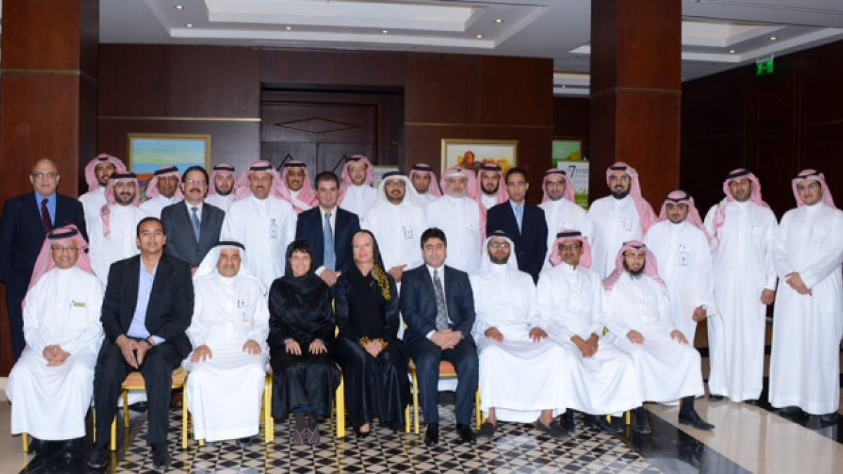 The UNWTO executive training courses in Saudi Arabia started on 20 May
