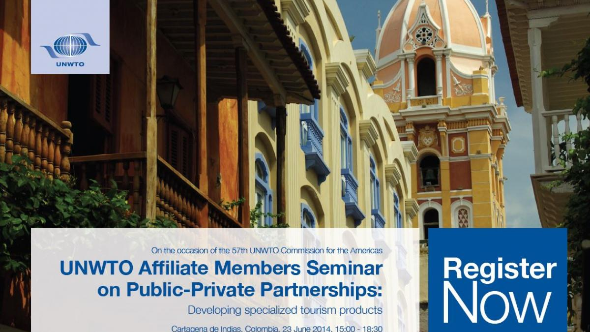 UNWTO Affiliate Members Seminar on Public-Private Partnerships: Developing specialized tourism products
