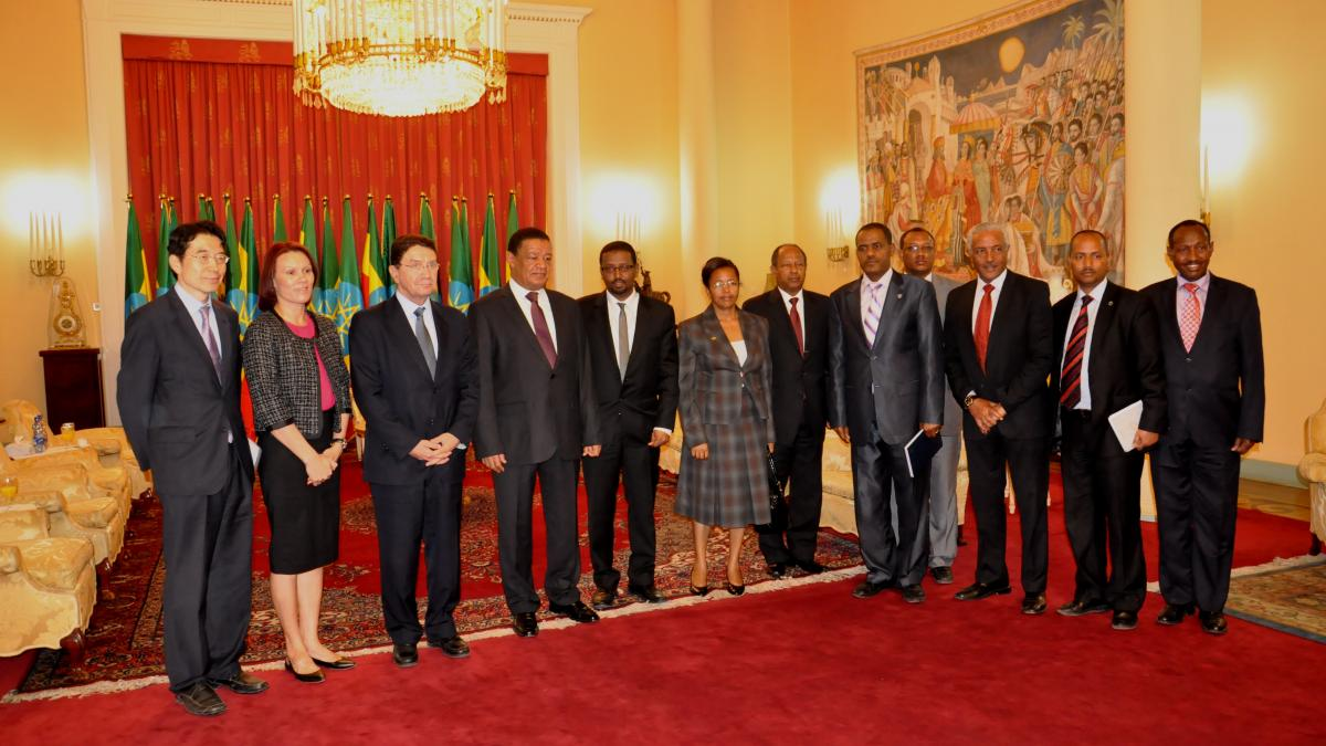 The UNWTO Secretary-General Official Visit to Ethiopia, from 13 to 18 July 2014