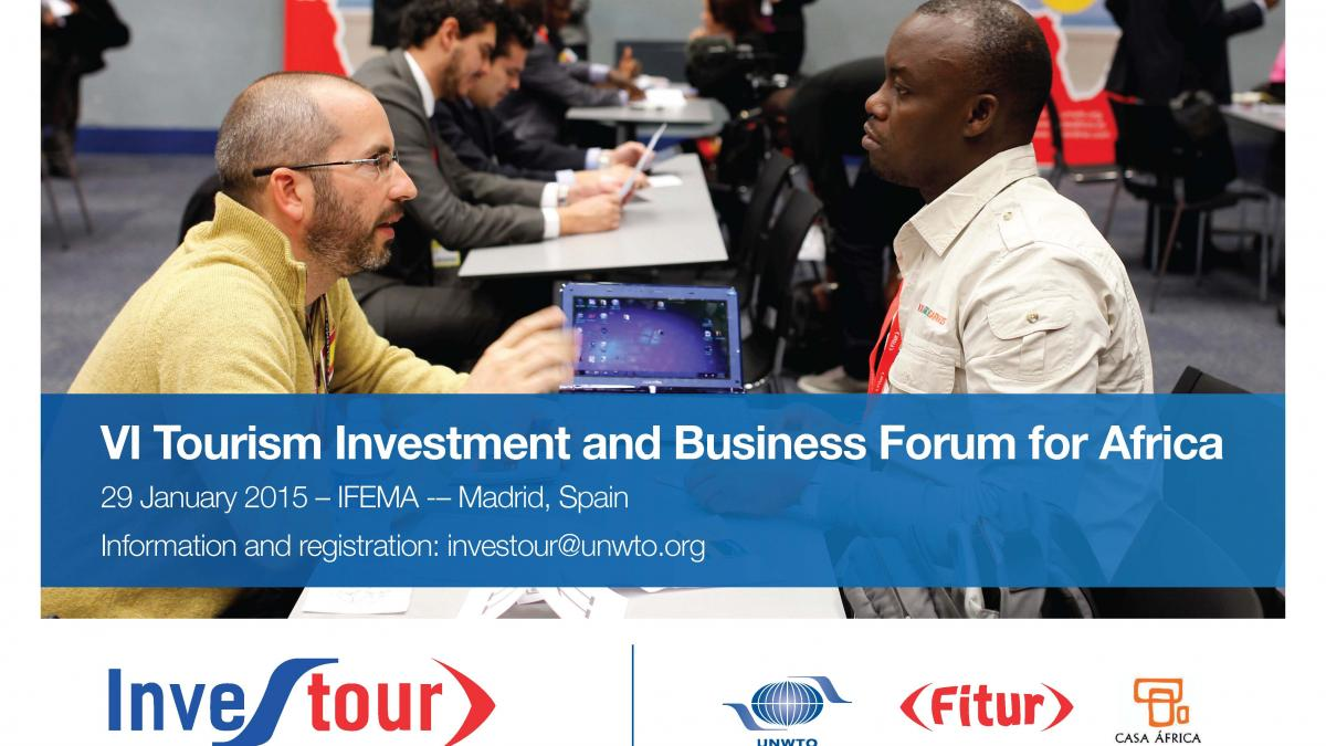 VI Tourism Investment and Business Forum for Africa, 29 January 2015, IFEMA, Madrid, Spain