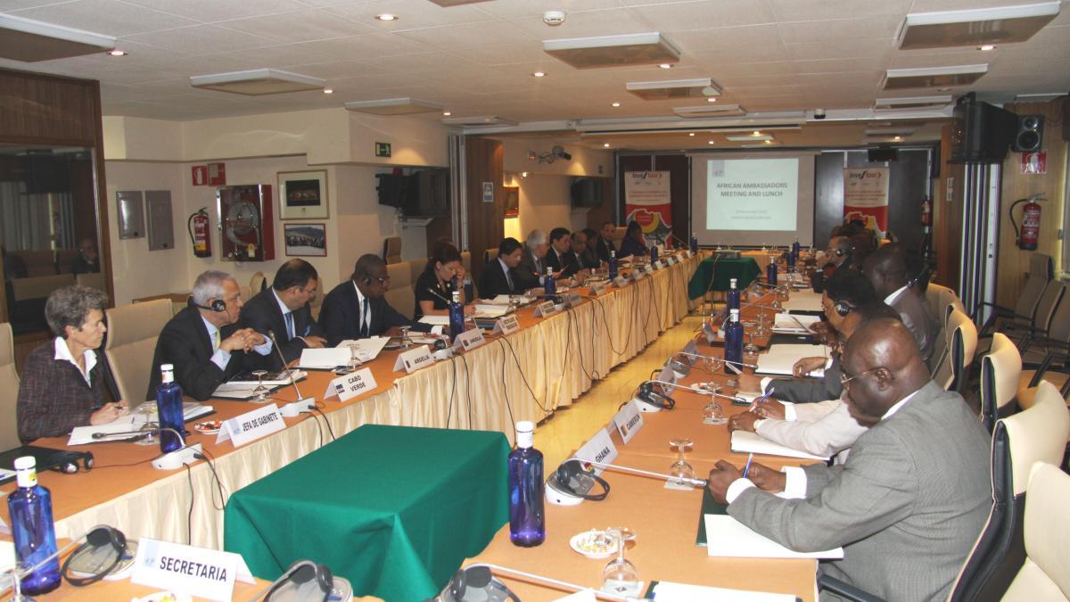 Déjeuner des ambassadeurs africains, 17 octobre 2014